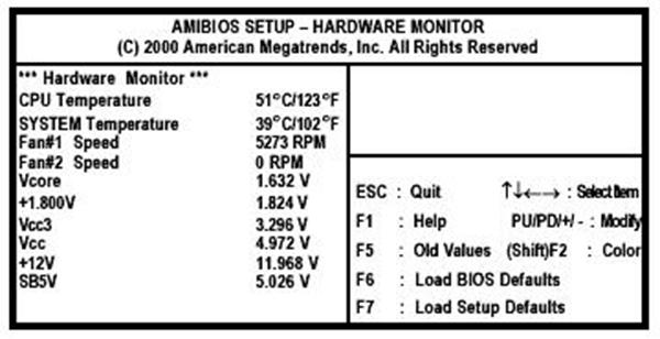 Hardware-Monitor-Page