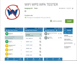 WPS WPA tester play store