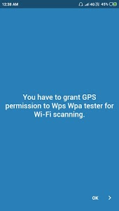 WPS WPA tester permission for Wi-Fi scanning